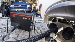 Prueba de emisiones diésel en Alemania.