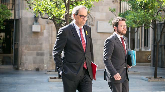 Quim Torra recuerda, en Catalunya Ràdio, que puede convocar elecciones en octubre y no descarta nada.
