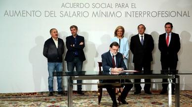Rajoy impulsa su agenda de gobierno tras las elecciones catalanas