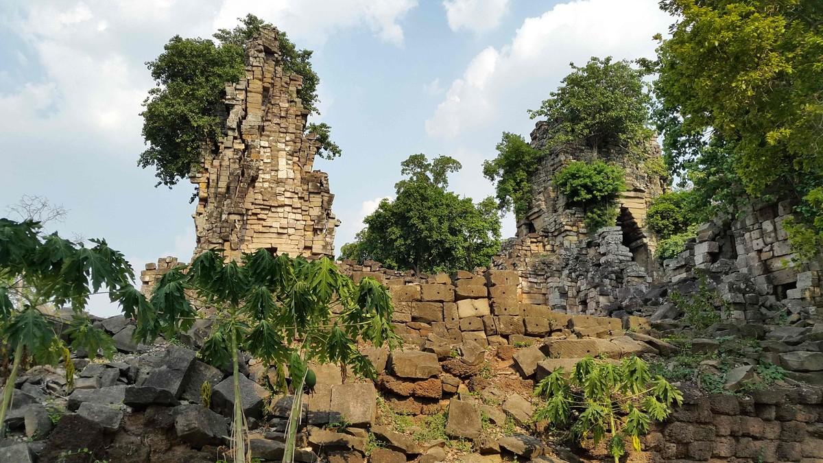 Restos del templo de Banteay Chhmar, en la provincia de Siem Reap.