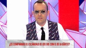 """Risto, contra la corrupción del PP y PSOE: """"Dejemos de comparar, son todos delincuentes"""""""