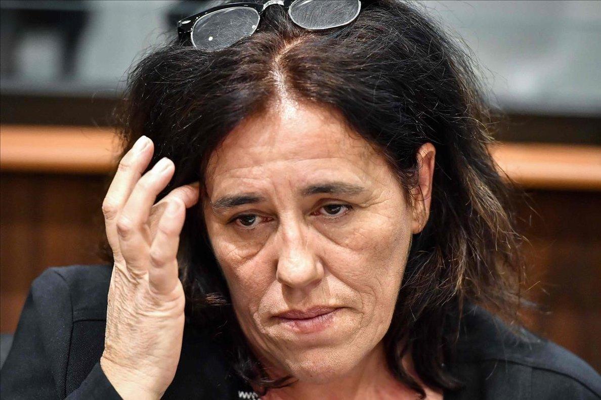 Rosa Maria Da Cruz, durante el juicio en Tulle.