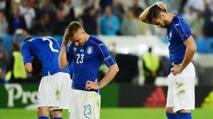 Itàlia i Alemanya protagonitzen la pitjor tanda de penals de la història de les Eurocopes