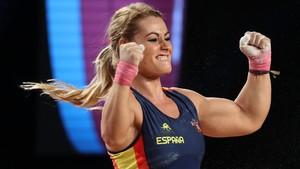Una fantàstica Lydia Valentín aconsegueix un triple or mundial a Califòrnia