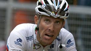 Rui Costa, durant una de la primeres etapes del Tour de França.