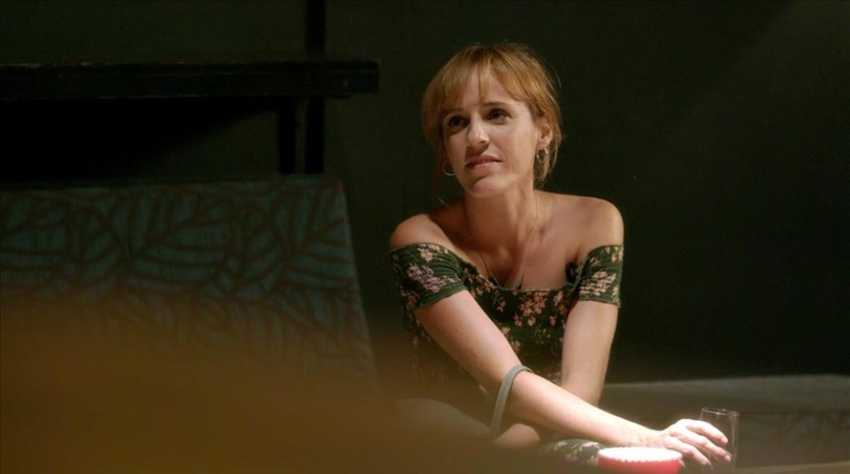 Sara Espígul, en la serie 'El crac'.