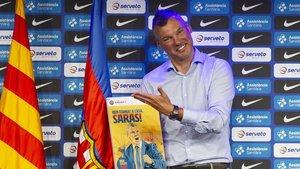 Sarunas Jasikevicius , nuevo entrenador del FC Barcelona.