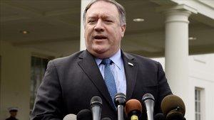 El secretario de Estado estadounidense, Mike Pompeo