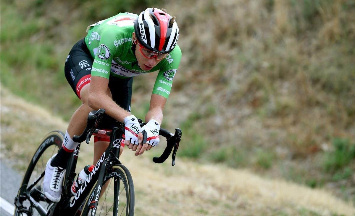Pogacar aconsegueix un tercer triomf de casta a la Vuelta