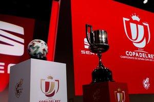 Escenario del sorteo de la primera eliminatoria de Copa del Rey.