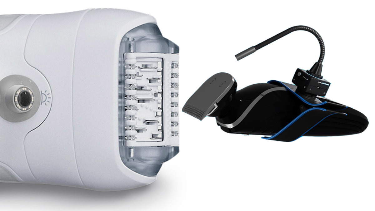 Una cámara HDMi con iluminación led que se adapta a cualquier dispositivo de tratamiento estético.
