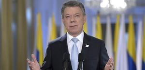 El Nobel premia els esforços de pau de Santos a Colòmbia