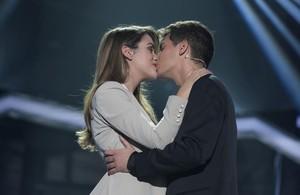 El llarg petó d'Amaia i Alfred que embogeix els fans d''OT'