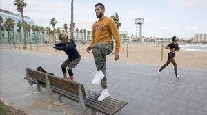 El fitnes 'online' creix amb el tancament de gimnasos