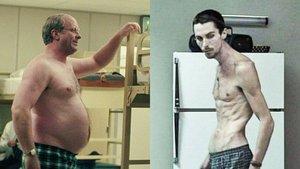 Christian Bale, en El vicio del poder y en El maquinista.
