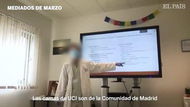 El polémico vídeo grabado en el madrileñoHospital Infanta Cristina de Parla.