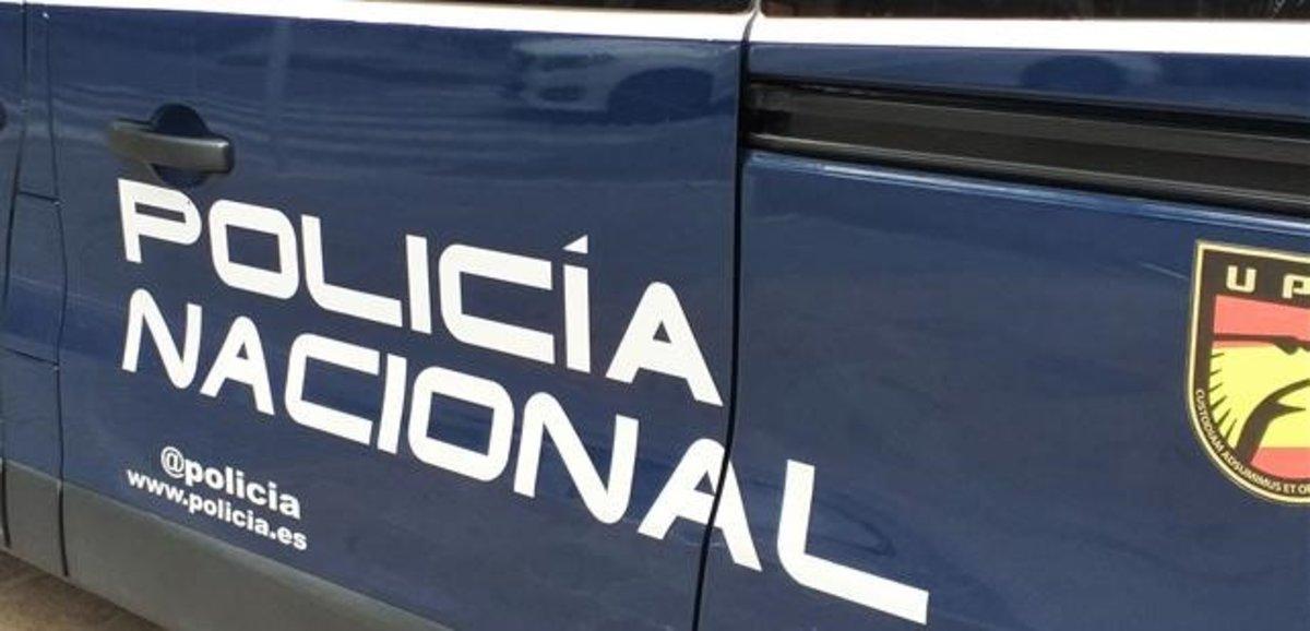 Vehículo de la Policía Nacional.