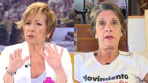Celia Villalobos y Pilar Gutiérrez.