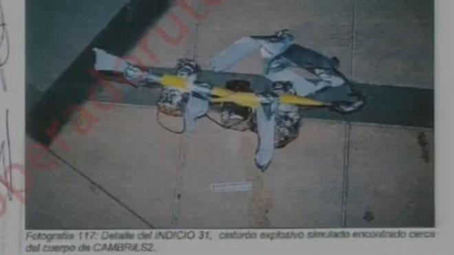 Visualización de fotos de los atentados de Cambrils en el juicio del 17-A.