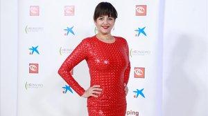 La actriz Yolanda Ramos, en la gala de los premios Zapping.
