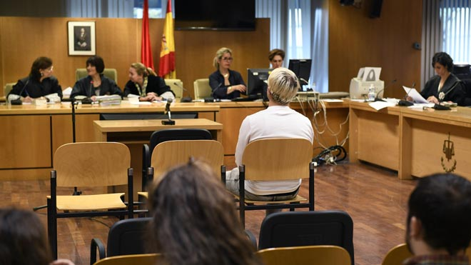 El 'youtuber' Dalas Review, ante la Audiencia Provincial de Madrid.