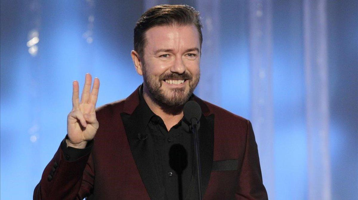 Ricky Gervais: el presentador 'tocapelotas'