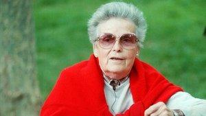 La escritora Teresa Pàmies, en 1993.