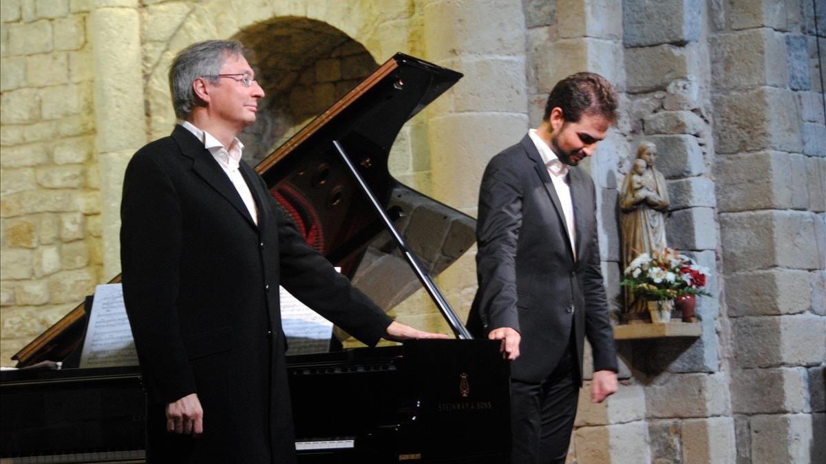 Manuel Walser (derecha), en una imagen del 2015.