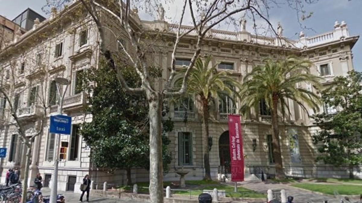 Imagen del colegio de abogados de Barcelona.