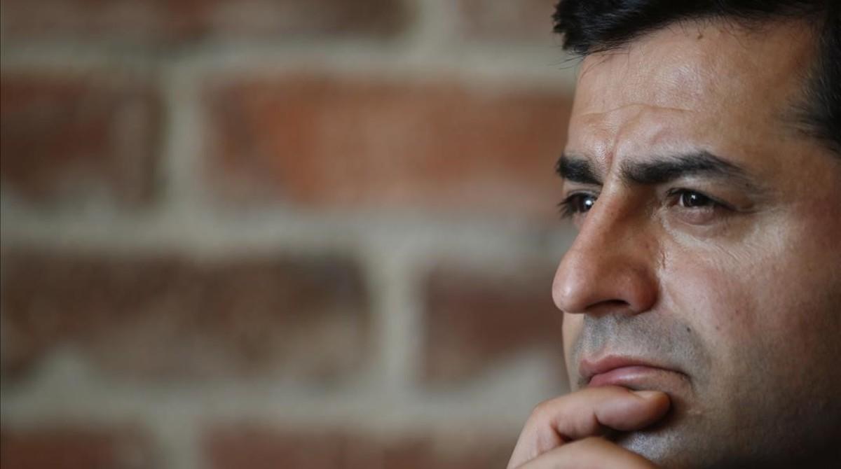Selahattin Demirtas, antes de su detención.