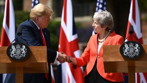 Trump desmenteix 'The Sun' i aplaudeix el 'brexit' de May