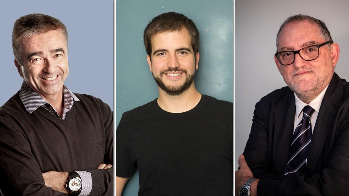 Francino, Jorba i Ustrell, noves firmes d'EL PERIÓDICO