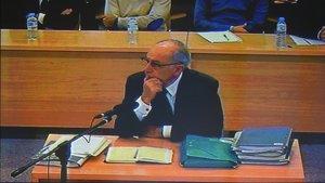 Rodrigo Rato, en el juicio por la salida a bolsa de Bankia.