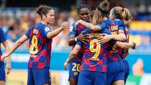 El Barça femení fa una repassada a l'Atlètic de Madrid (6-1)