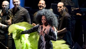 Diana Ross,en una actuación reciente.
