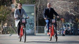 El nou Bicing arribarà a 11 barris de Barcelona fins ara sense servei