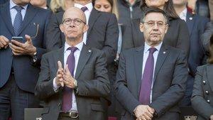 Bartomeu medita fer canvis dràstics en la cúpula directiva del Barça