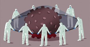 Tras los errores, unidad contra el virus