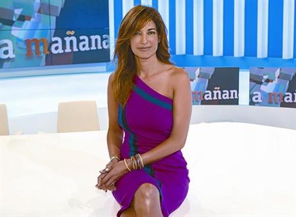La periodista Mariló Montero, en el nuevo plató de La mañana de La 1.