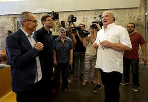 Presentació de Lluís Rabell com a candidat de Catalunya sí que es pot per al 27-S.