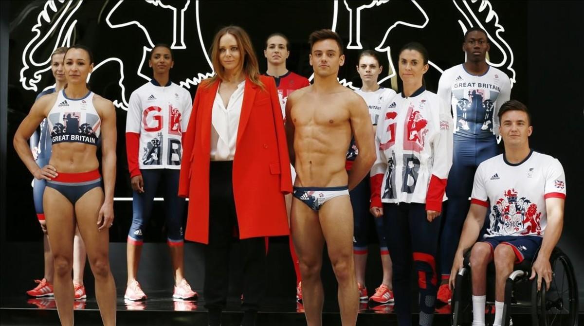 9237ea52c6 Stella McCartney viste al equipo olímpico británico