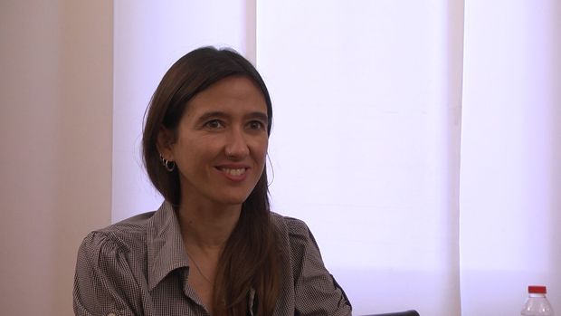 La alcaldesa de Santa Coloma, Núria Parlon, se posiciona a favor de la opción 2 en la consulta sobre el futuro de la Salzereda, en Santa Coloma de Gramenet.