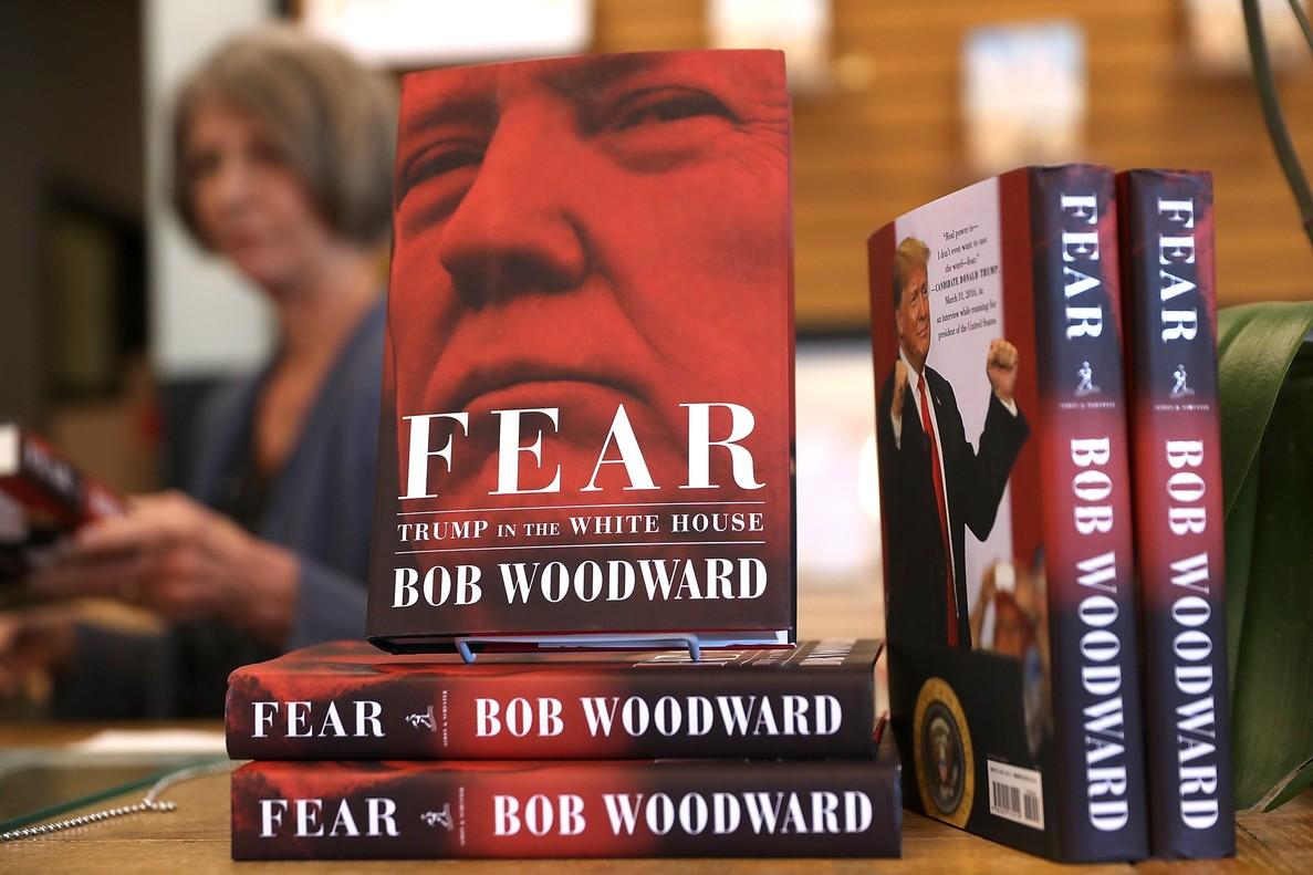 Bob Woodward: libro ya está a la venta; obra de ficción dice Trump
