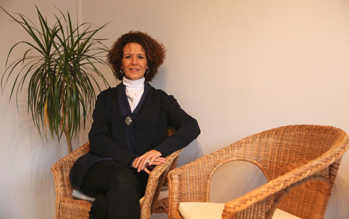 La geóloga Alba Payàs.