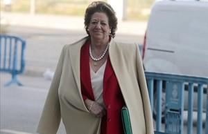 Una altra jutge envia al Suprem la causa contra Rita Barberá per incomplir la llei de memòria històrica