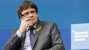 Puigdemont, Sànchez, Turull i Rull demanen al Parlament cobrar les pagues per desplaçaments