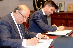 La policía y la AFE firman un acuerdo contra el fraude en el fútbol español