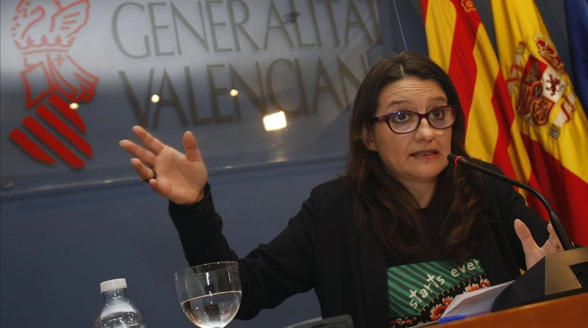 La vicepresidenta de la Generalitat valenciana,Mónica Oltra.