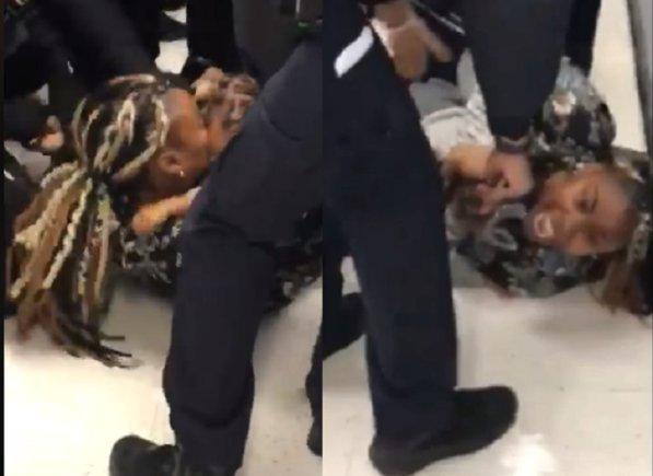 Jazmine Headley, de 23 años, fue detenida cuando se encontraba en la Oficina de Recursos Humanos del distrito de Brooklyn.