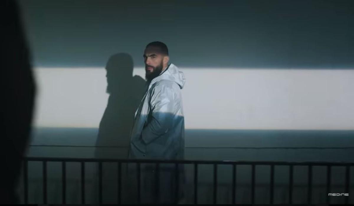 Captura del vídeo 'Bataclán' del rapero musulman Medine.